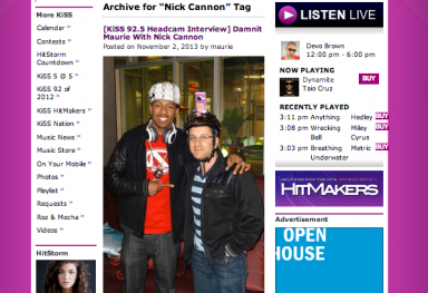 CPR PRESS: Nick Cannon